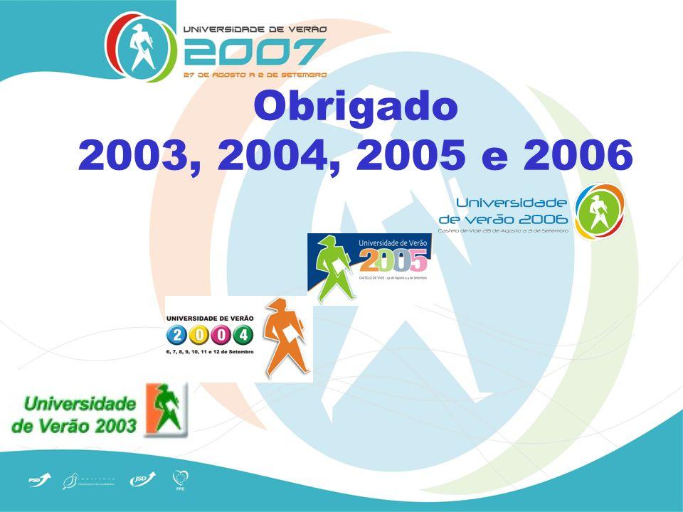 Obrigado 2003, 2004, 2005 e 2006