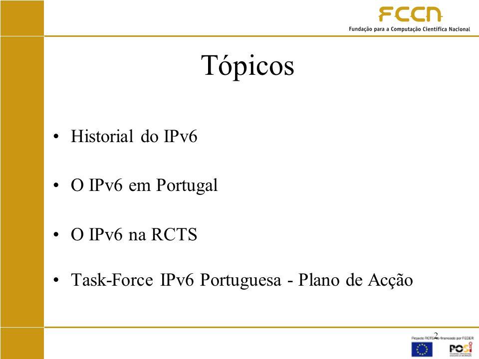 3 Historial do IPv6