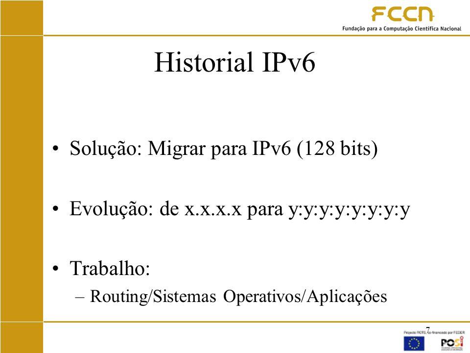 8 IPv6 em Portugal