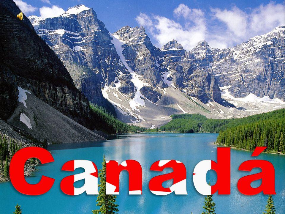 O Canadá é um país localizado na América do Norte.