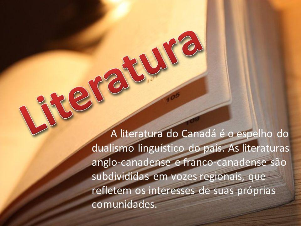 A literatura do Canadá é o espelho do dualismo linguístico do país. As literaturas anglo-canadense e franco-canadense são subdivididas em vozes region