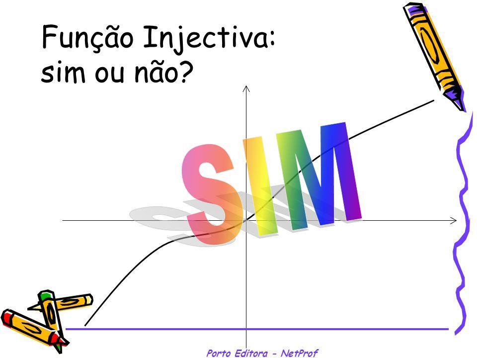 Porto Editora - NetProf Função Injectiva: sim ou não?