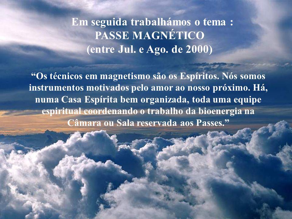 Criado no dia 23 de Maio de 1998, iniciou-se o estudo de O LIVRO DOS ESPÍRITOS de Allan Kardec, cujo término foi em Jun. de 2000 O Espiritismo tem por