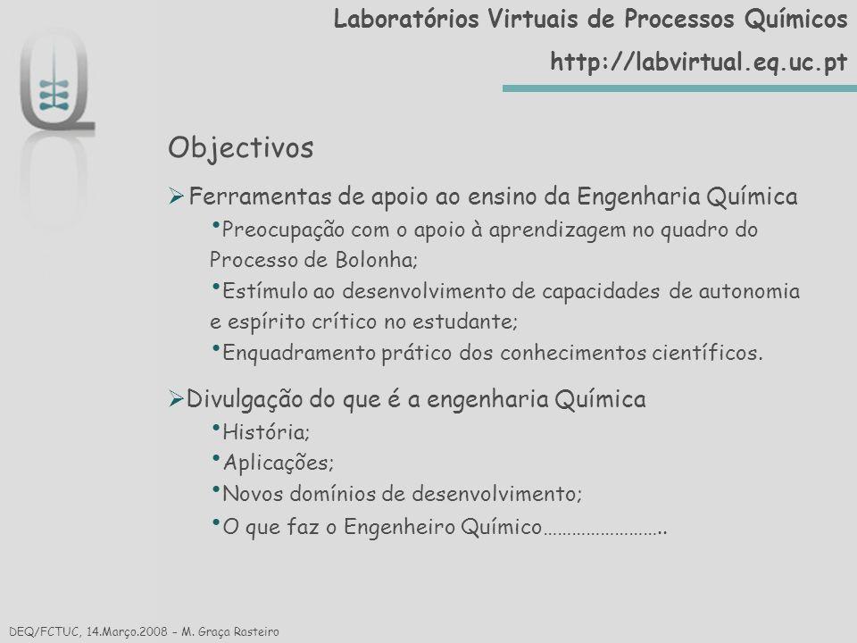 Reacção Química DEQ/FCTUC, 14.Março.2008 – Cristina Gaudêncio Processos Químicos/Processos Biológicos/Fermentação/Fundamentos