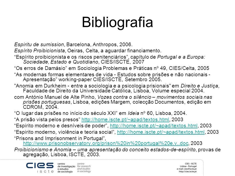 Bibliografia Espiritu de sumission, Barcelona, Anthropos, 2006.
