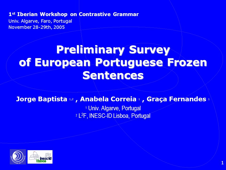 2 Structure Presentation Collecting Frozen Sentences Collecting Frozen Sentences Defining Frozen Sentences Defining Frozen Sentences Classification Classification Format of Dictionary Format of Dictionary Syntactic Properties Syntactic Properties Classification Problems Classification Problems Concluding Remarks Concluding Remarks