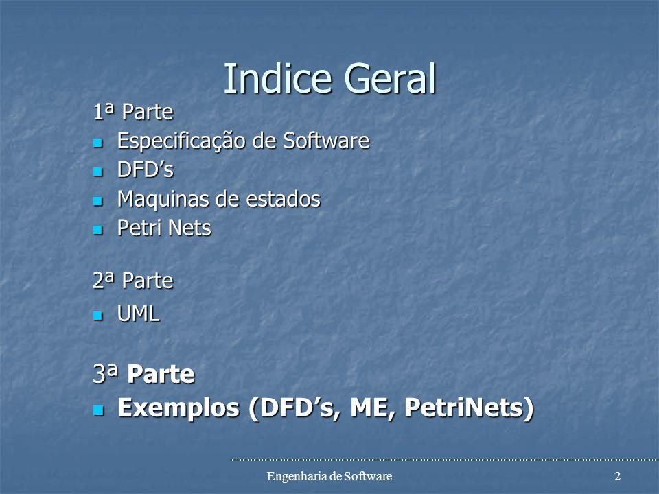 Exemplos Especificação de Software Patrícia Macedo Joaquim Filipe João Ascenso Engenharia de Software 2005/2006 EST, Setúbal