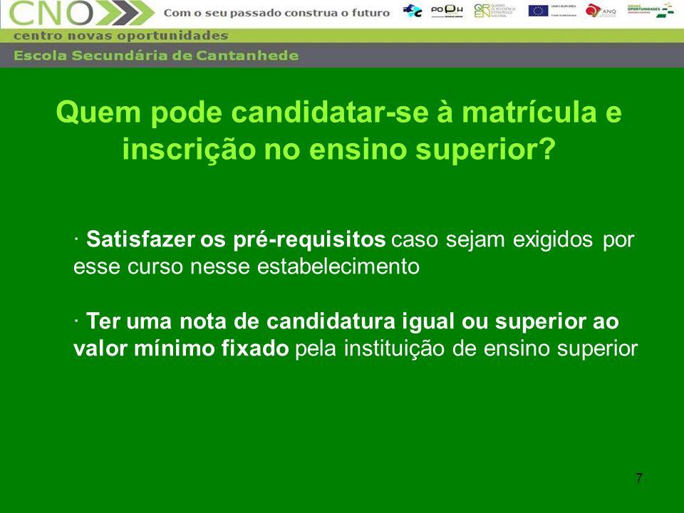 28 Universidade de Coimbra – 3º e 4º exemplos Exames Nacionais / provas de ingresso