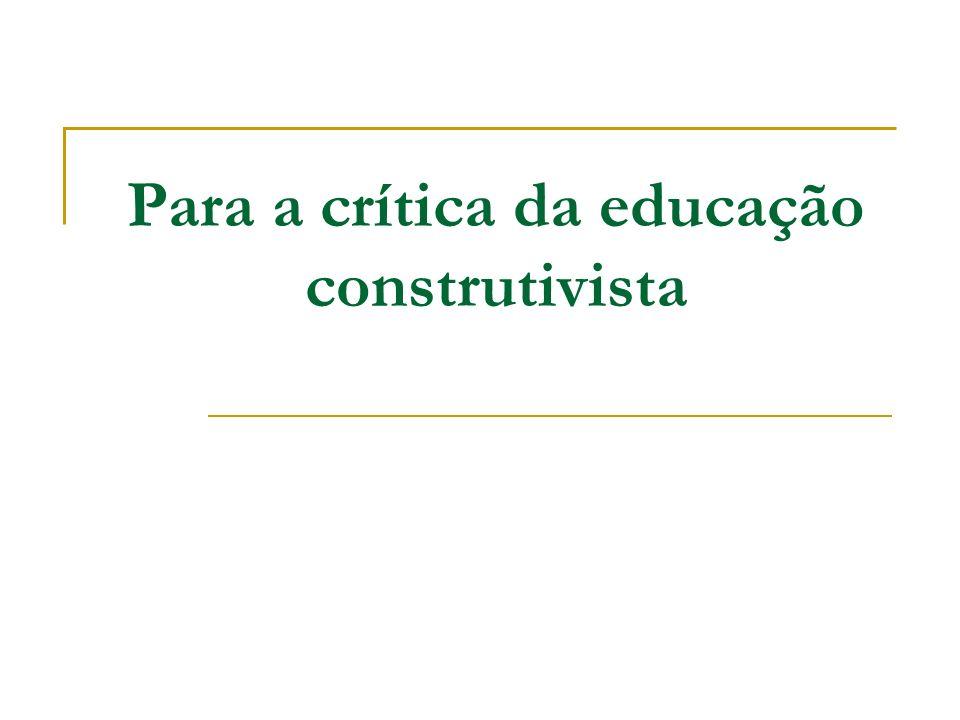 Nas obras Psicologia e Pedagogia (1988b) e Para onde vai a educação.