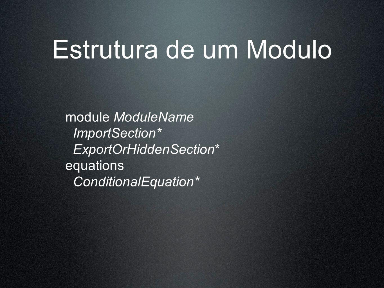 Exemplo ASF+SDF