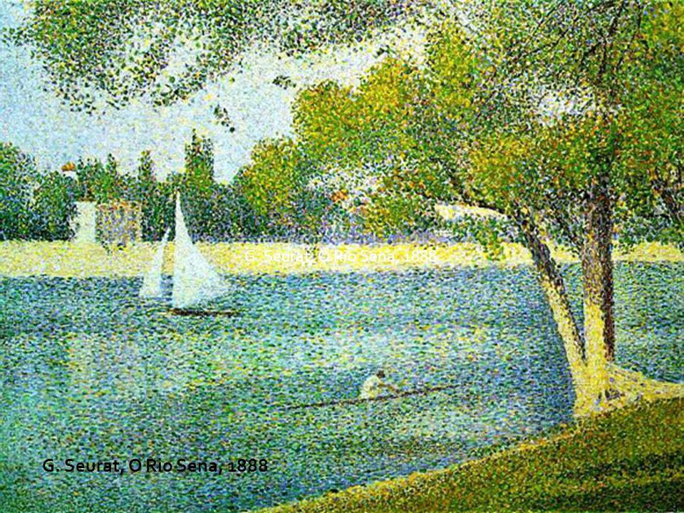 G. Seurat, O Rio Sena, 1888