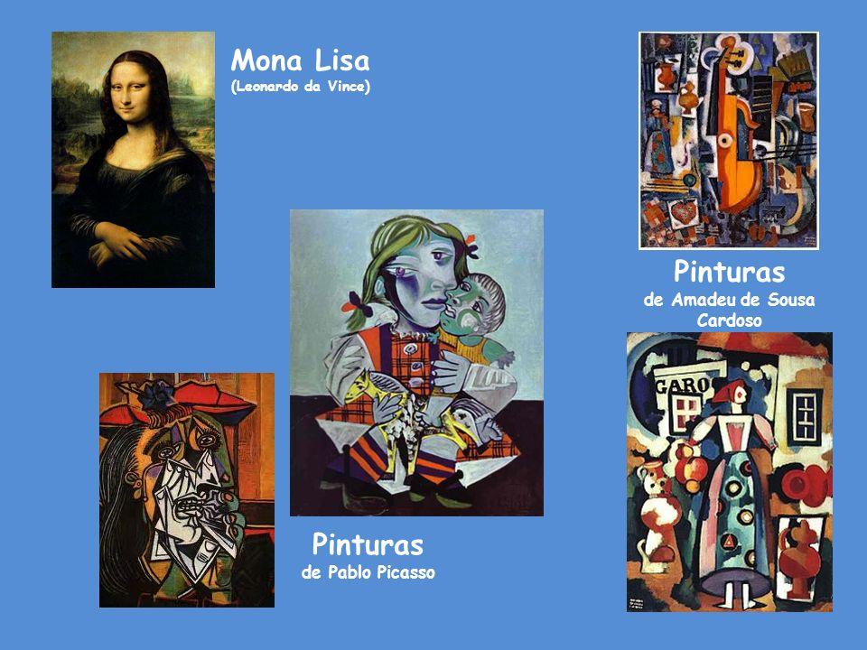 Pinturas de Pablo Picasso Pinturas de Amadeu de Sousa Cardoso Mona Lisa (Leonardo da Vince)