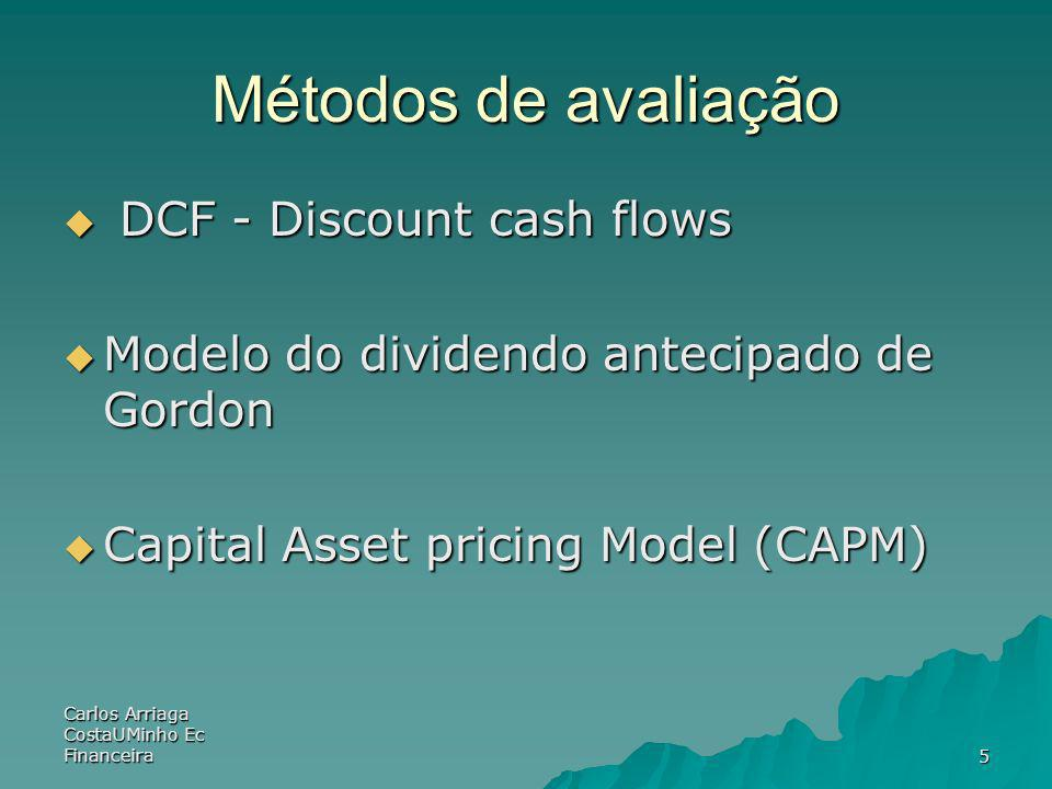 Carlos Arriaga CostaUMinho Ec Financeira46 Quick Quiz Explain the effect of leverage on EPS and ROE Explain the effect of leverage on EPS and ROE What is the break-even EBIT.