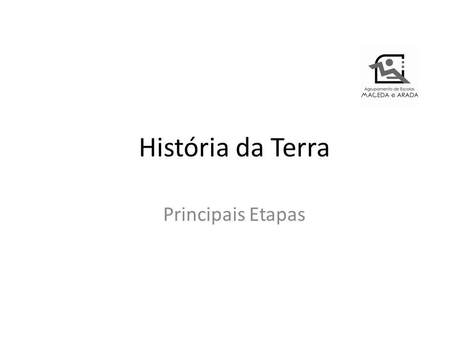 História da Terra Principais Etapas