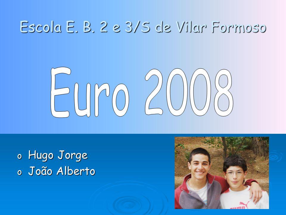 Escola E. B. 2 e 3/S de Vilar Formoso o Hugo Jorge o João Alberto