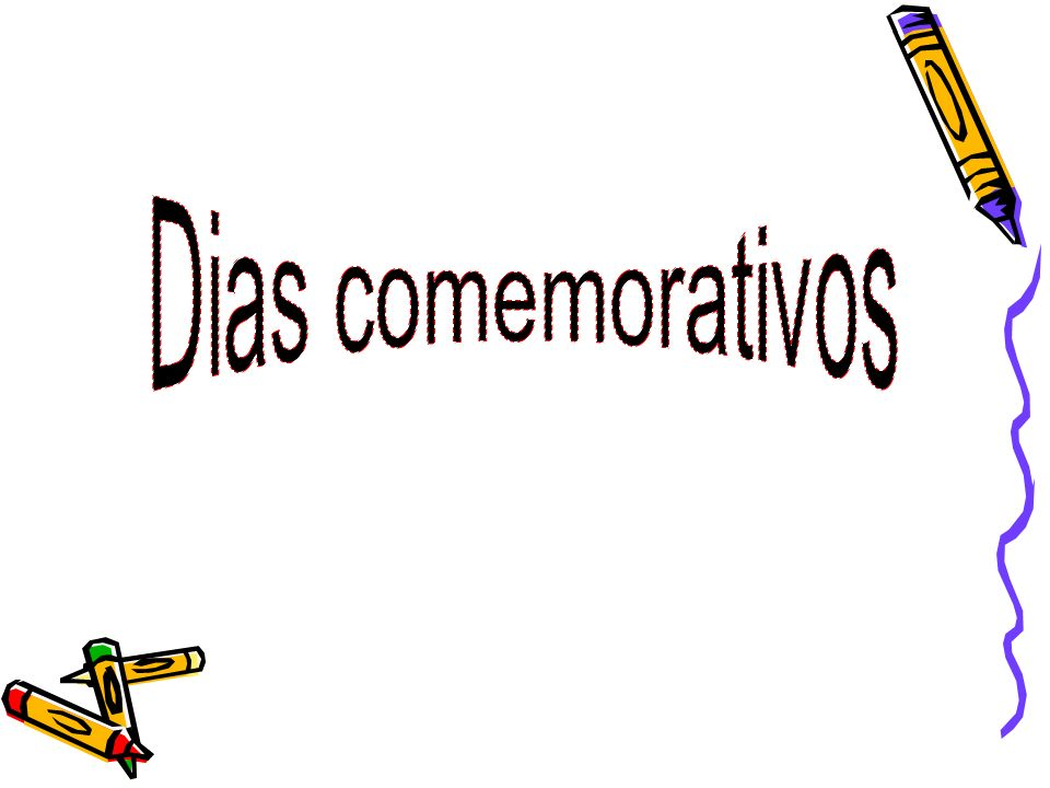 1-Dia de ano novo/Dia mundial da paz/Dia da santa mãe de deus 23-Dia mundial da liberdade 30-Dia da não violência nas escolas