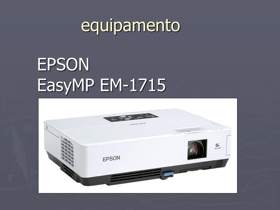 equipamento EPSON EasyMP EM-1715