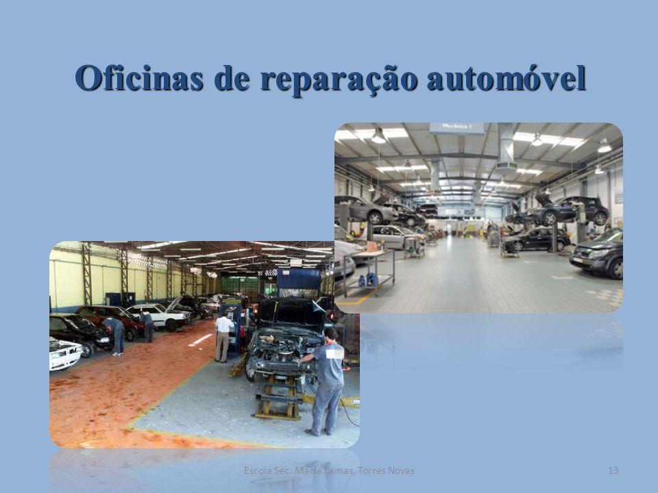 Oficinas de reparação automóvel 13Escola Sec. Maria Lamas, Torres Novas