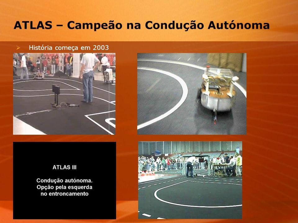 ATLAS – Campeão na Condução Autónoma História começa em 2003
