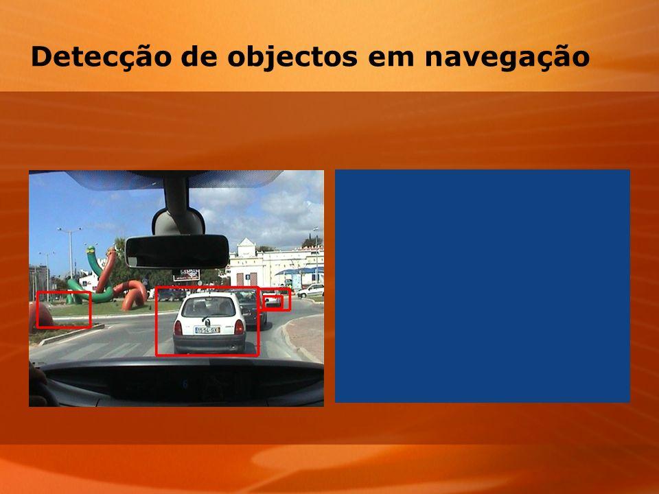 Detecção de objectos em navegação