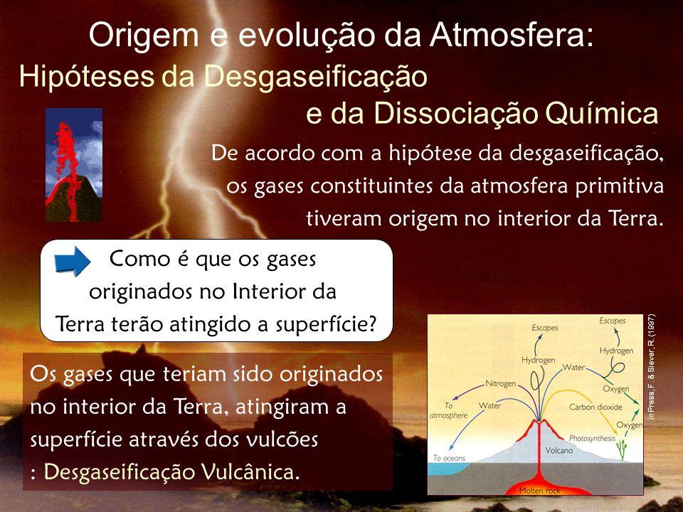 Posteriormente, alguns gases como o Hidrogénio e o Hélio escaparam-se para o espaço.