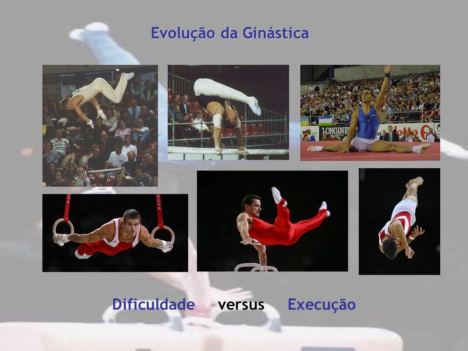 Evolução da Ginástica Dificuldade versus Execução