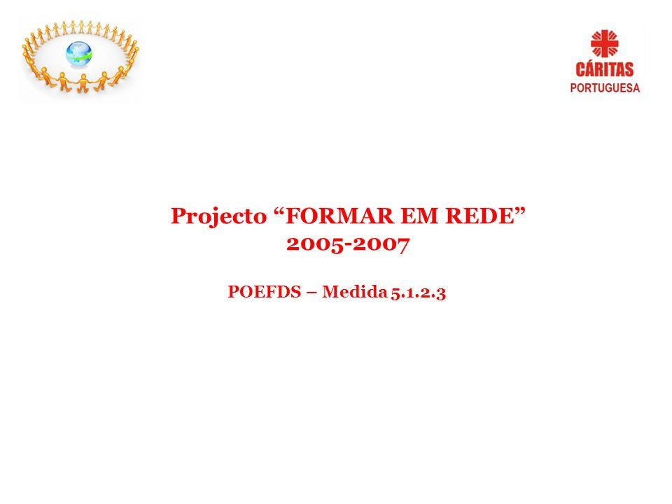 Projecto FORMAR EM REDE 2005-2007 POEFDS – Medida 5.1.2.3