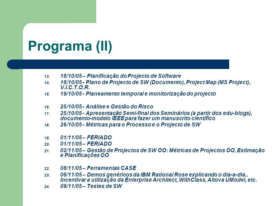 Programa (III) 25.