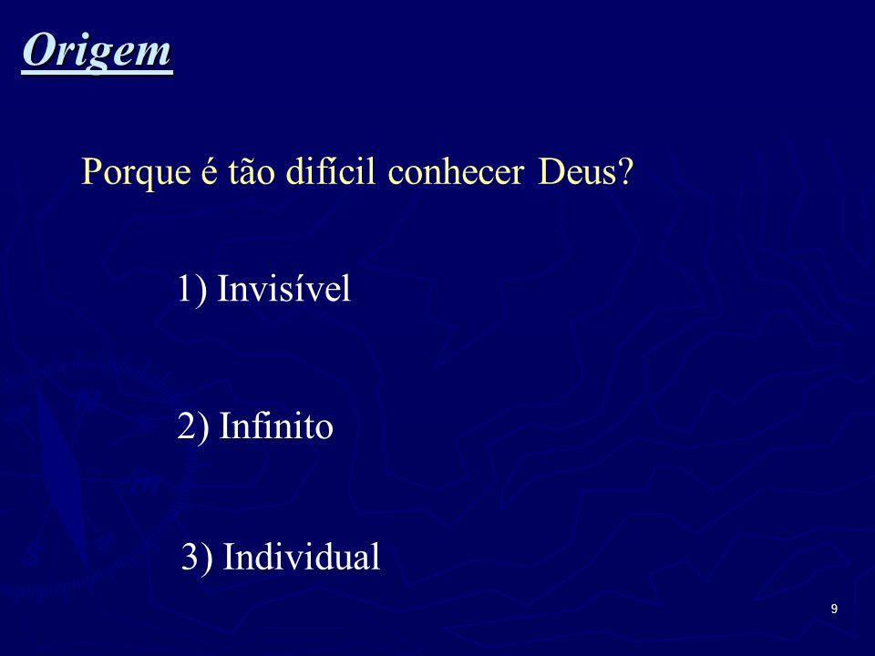 10 Origem Origem, Criador, Alá, Entidade Superior...