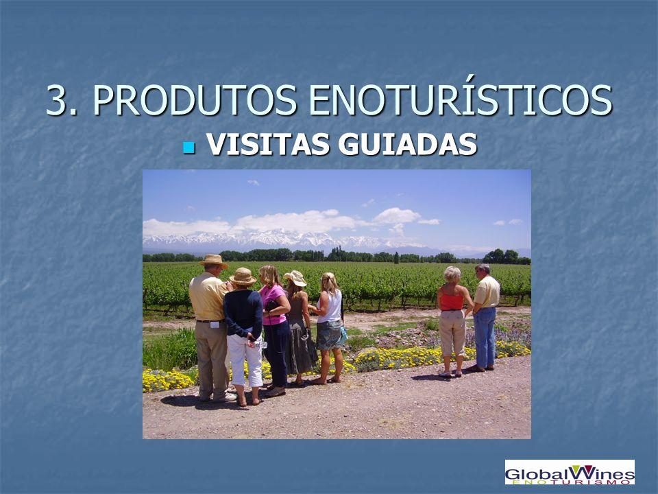 VISITAS GUIADAS VISITAS GUIADAS 3. PRODUTOS ENOTURÍSTICOS
