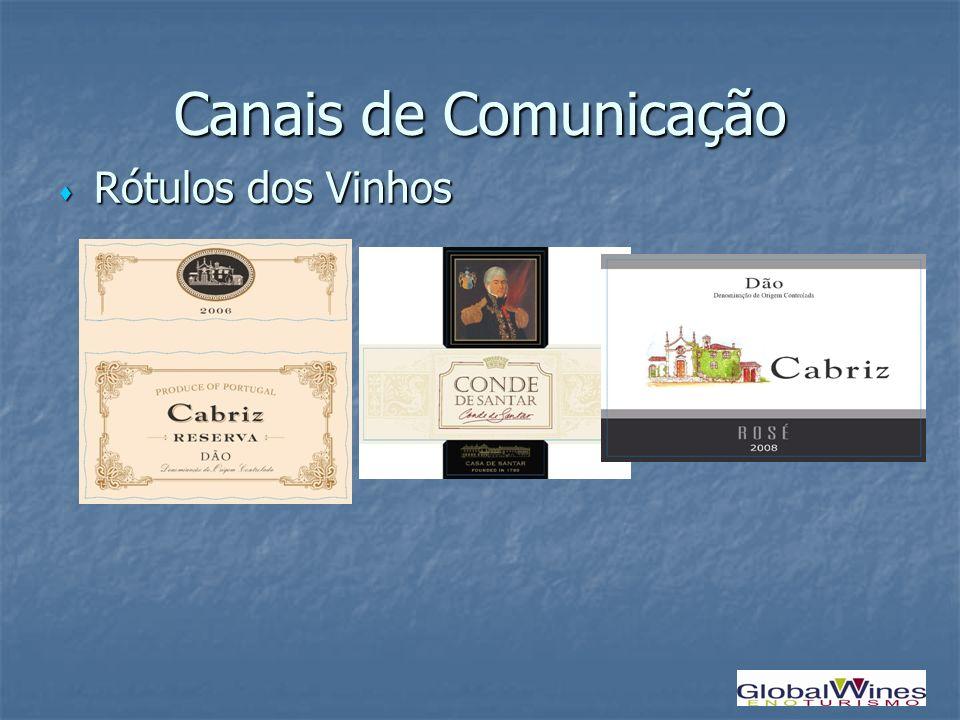 Canais de Comunicação Rótulos dos Vinhos Rótulos dos Vinhos