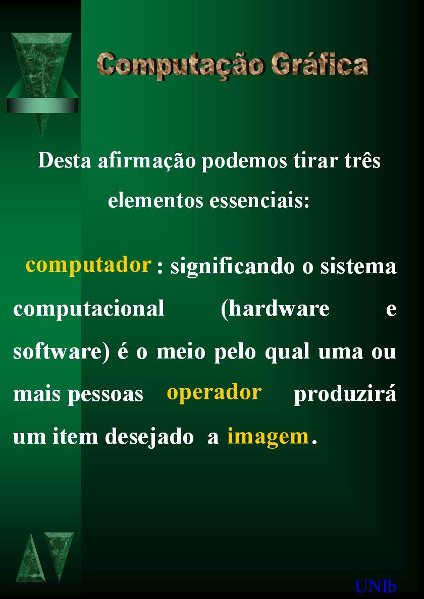 UNIb computador operador imagem