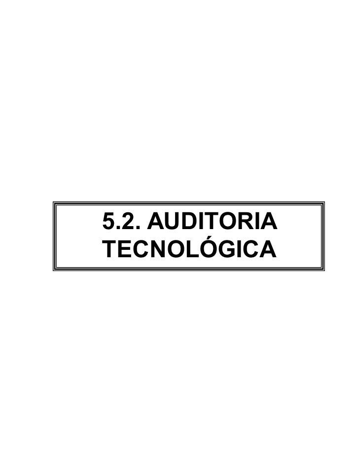 Auditoria Tecnológica 1.