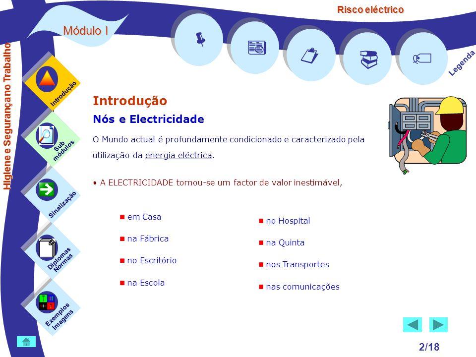 Risco eléctrico 2/18 Introdução Nós e Electricidade O Mundo actual é profundamente condicionado e caracterizado pela utilização da energia eléctrica.