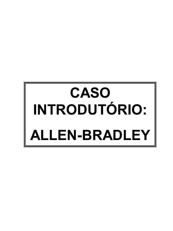 CASO INTRODUTÓRIO: ALLEN-BRADLEY