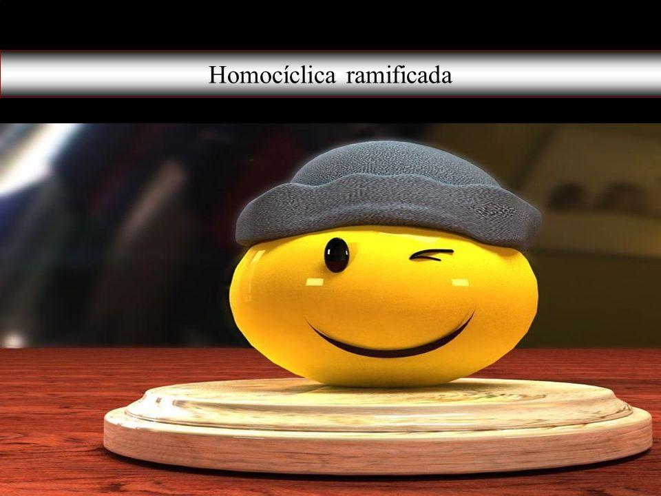 Homocíclica ramificada