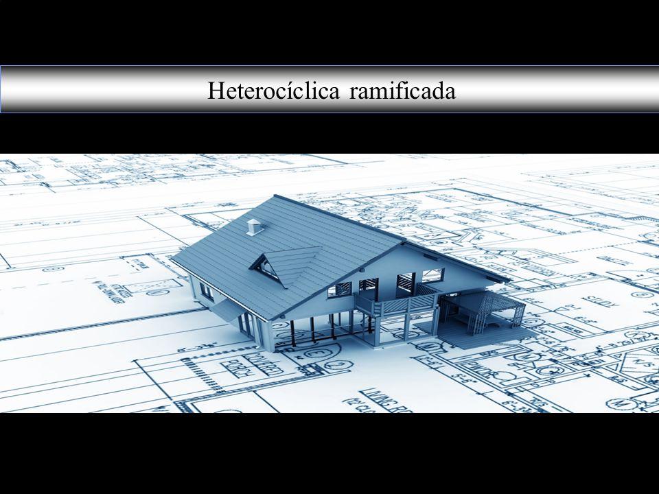 Heterocíclica ramificada
