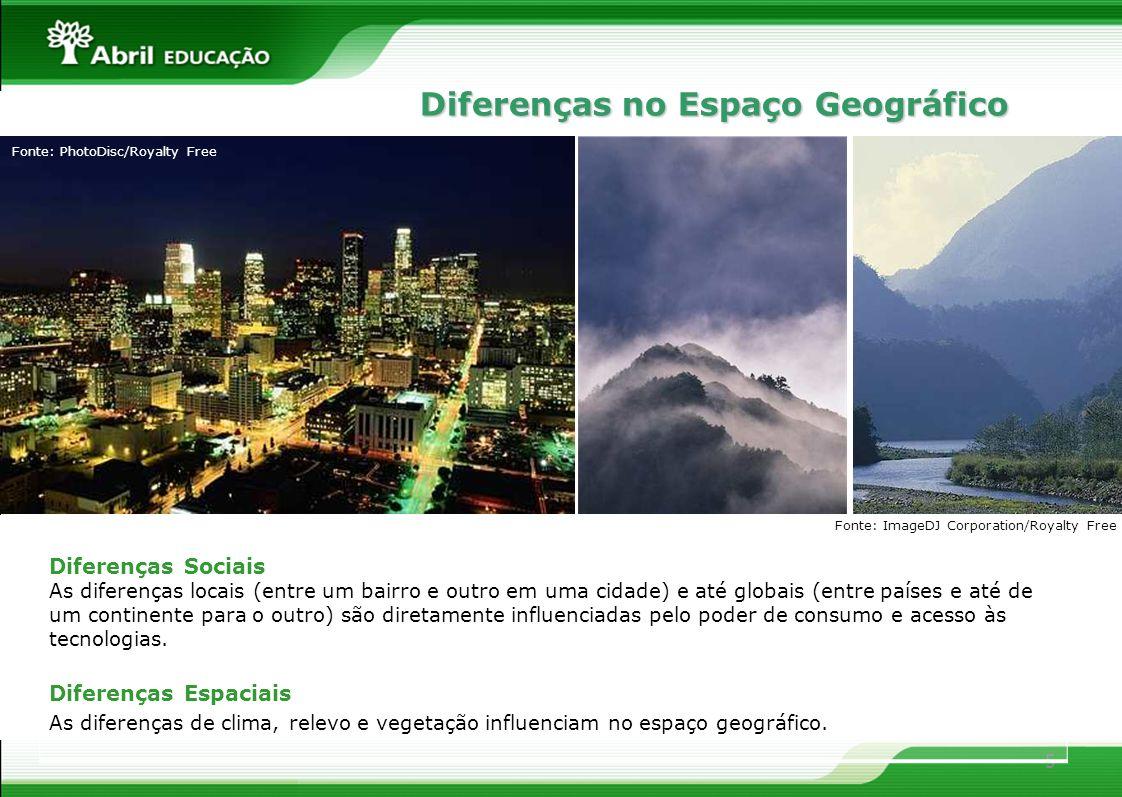 5 Diferenças Sociais As diferenças locais (entre um bairro e outro em uma cidade) e até globais (entre países e até de um continente para o outro) são