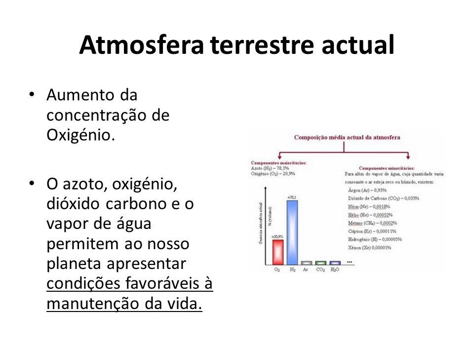 Importância dos gases Oxigénio Formação da Camada do ozono.