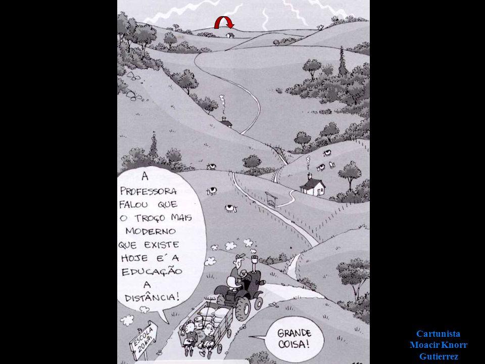 Cartunista Moacir Knorr Gutierrez