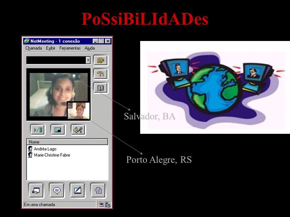 PoSsiBiLIdADes Porto Alegre, RS Salvador, BA