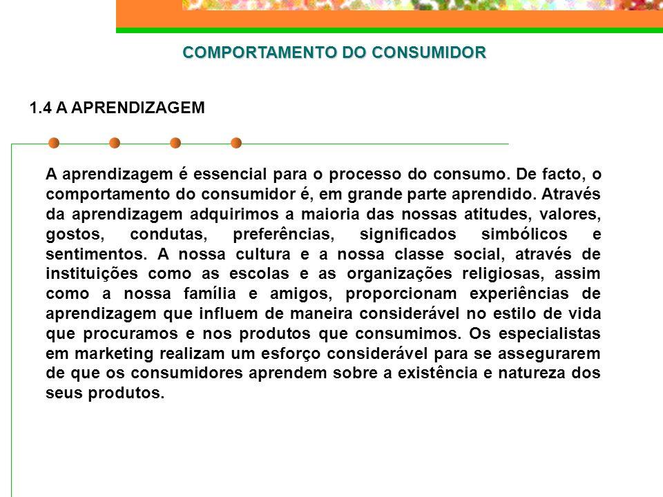 COMPORTAMENTO DO CONSUMIDOR B.