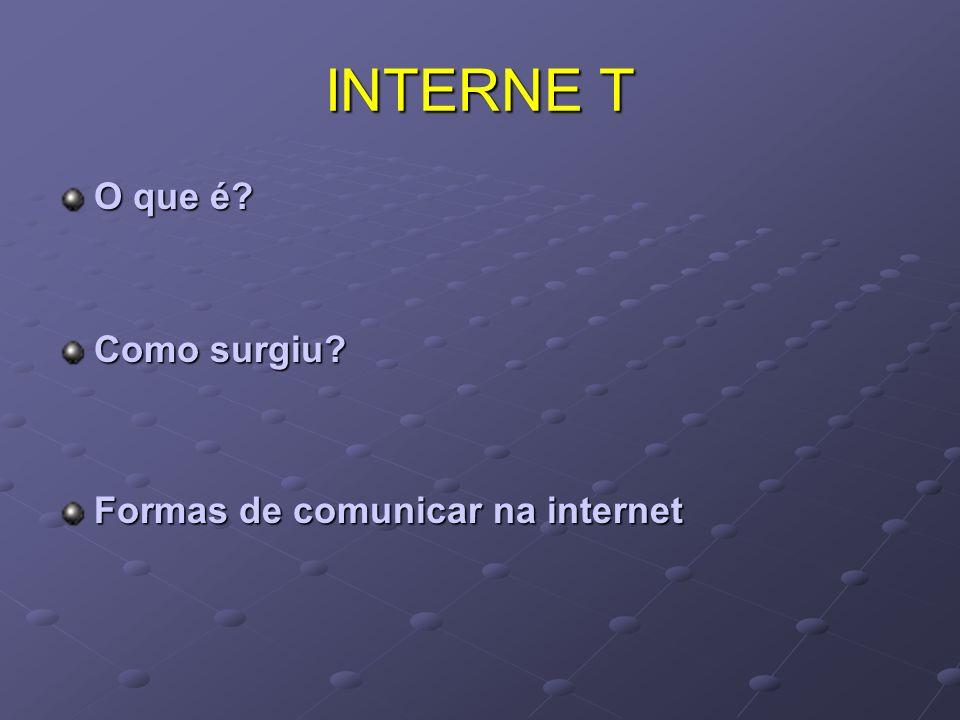 Comunicar != Teclar