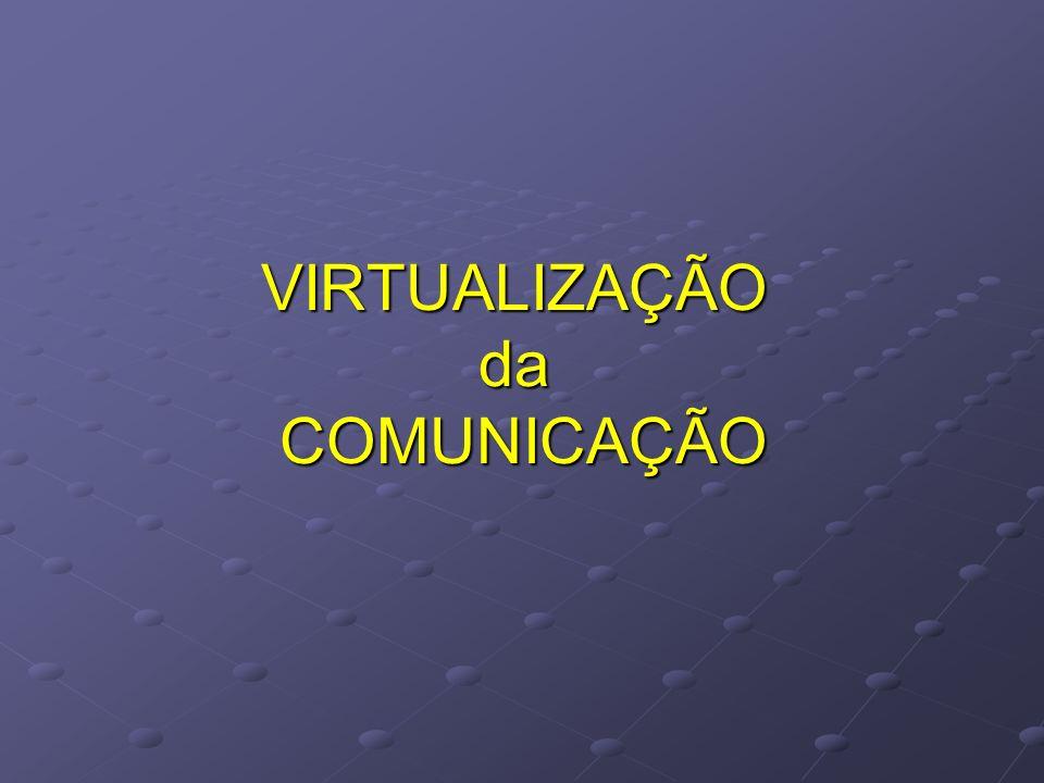 VIRTUALIZAÇÃO da COMUNICAÇÃO