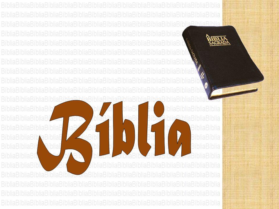 A Bíblia é o livro que contém a Palavra de Deus, expressa em palavras humanas escritas.