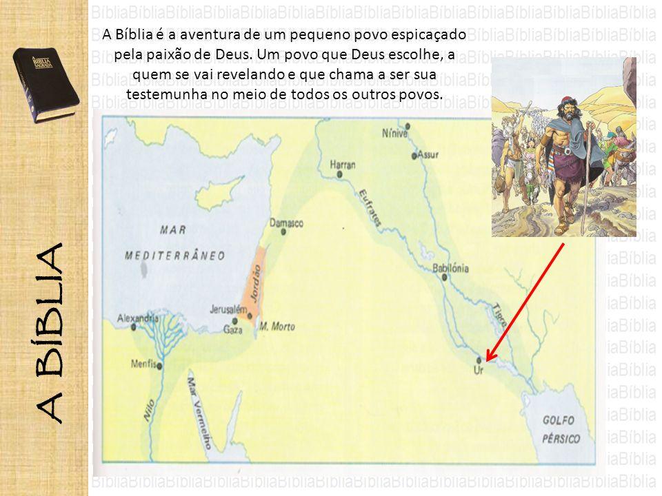 A Bíblia é a aventura de um pequeno povo espicaçado pela paixão de Deus. Um povo que Deus escolhe, a quem se vai revelando e que chama a ser sua teste