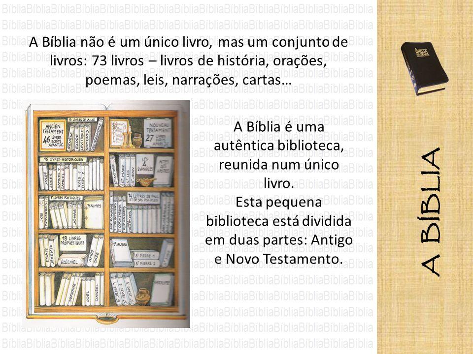 Para encontrarmos um texto bíblico, a primeira informação que temos de ter é: nome do livro