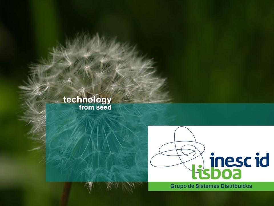 Instituto de Engenharia de Sistemas e Computadores Investigação e Desenvolvimento em Lisboa technology from seed Grupo de Sistemas Distribuídos 35 tec
