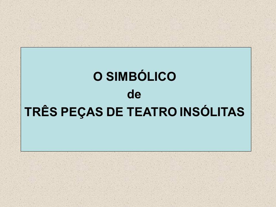 O SIMBÓLICO de TRÊS PEÇAS DE TEATRO INSÓLITAS