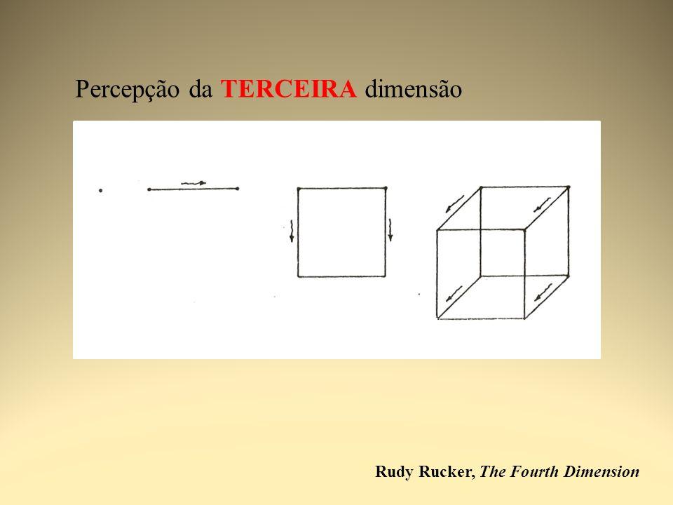 Rudy Rucker, The Fourth Dimension Percepção da TERCEIRA dimensão